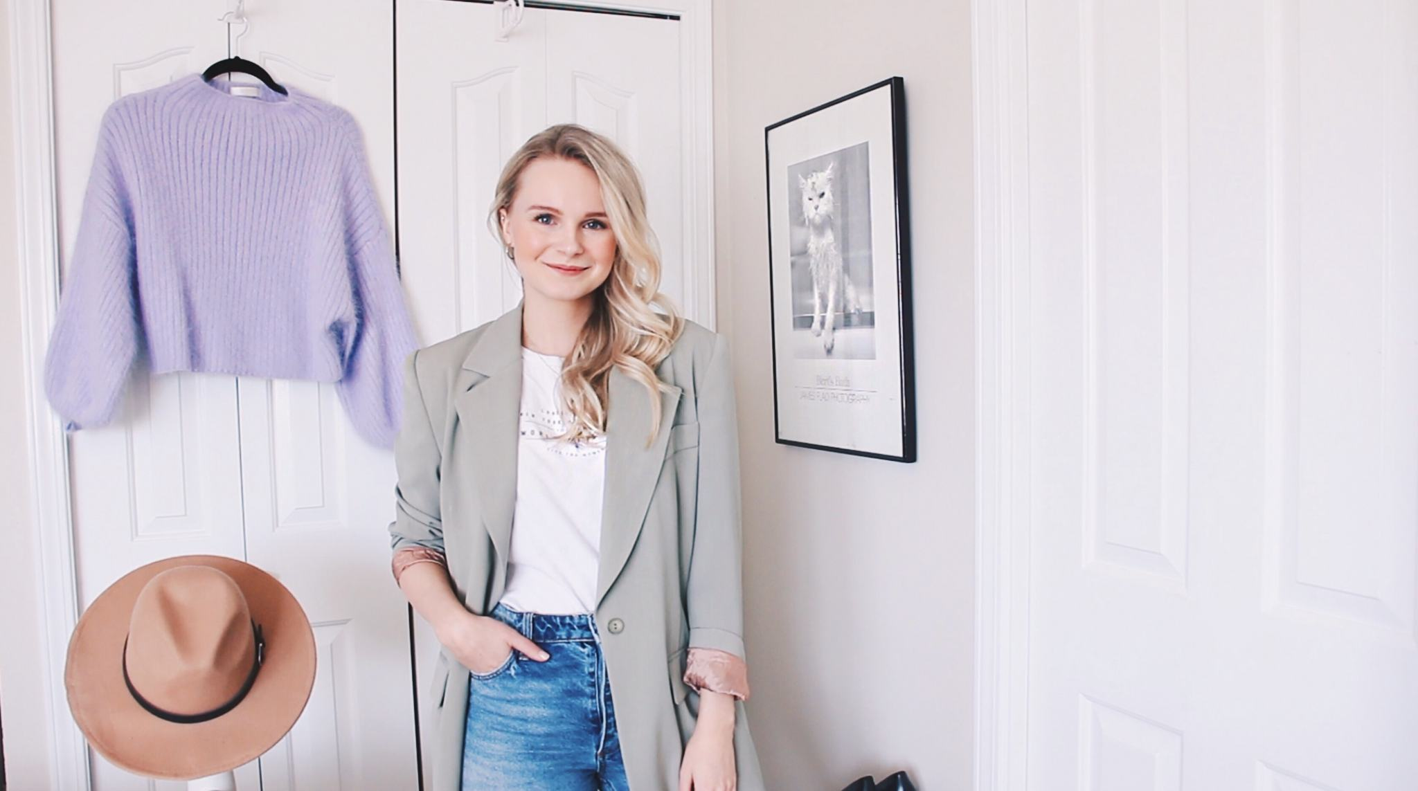 a young women talks about Spring trends of 2019