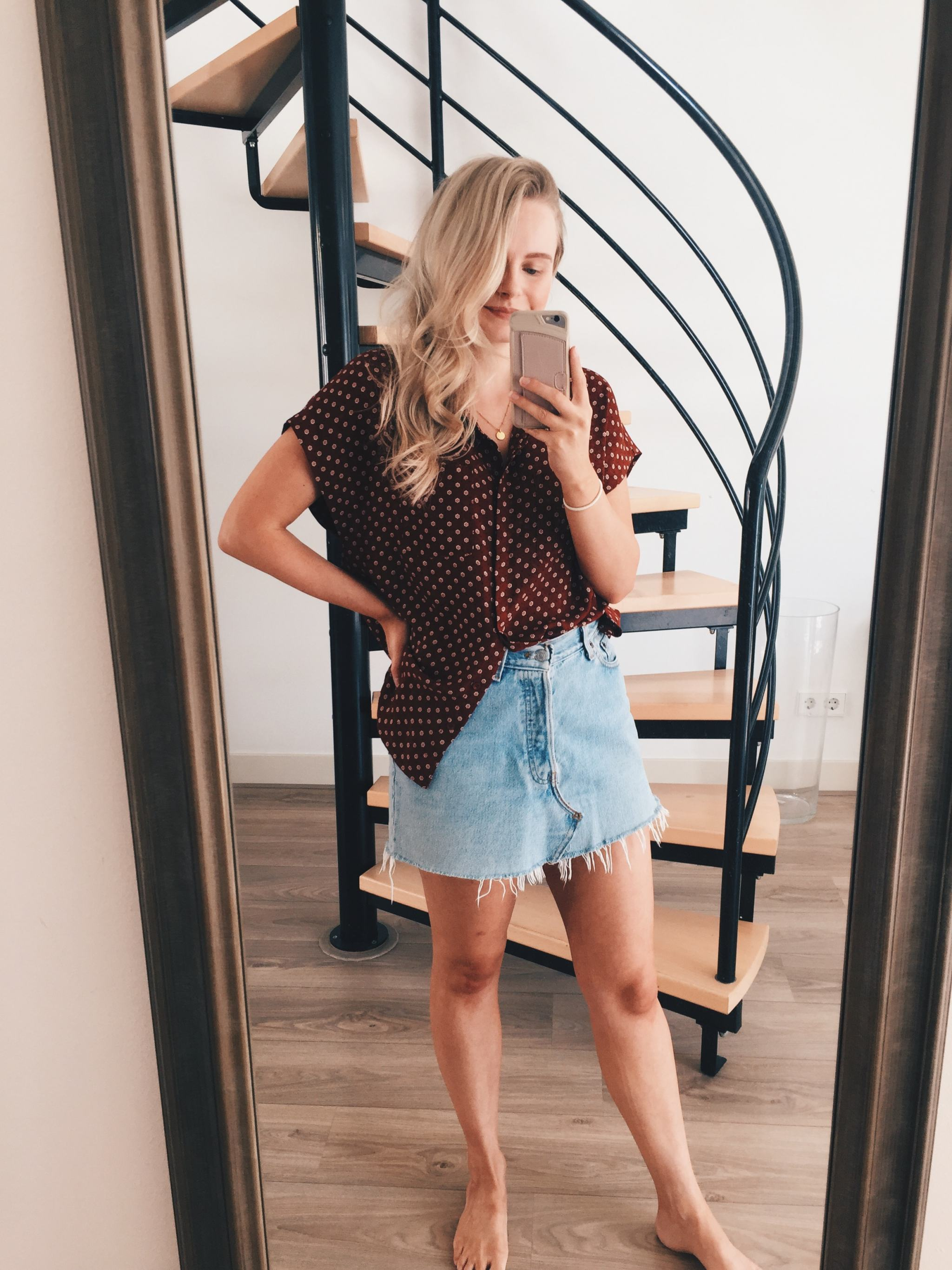 thrifted outfit